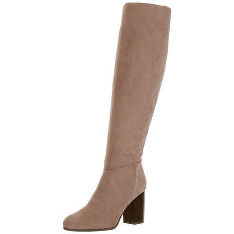Circus by Sam Edelman Womens sibley Fabric Almond Toe Knee High Fashion Boots