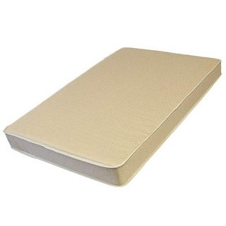 L A BABY 3508-ORGJ 3-Inch Thick Compact Crib Mattress With Organic