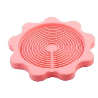 Household Kitchen Desktop Plastic Heat Resistant Bottle Kettle Coaster Pink