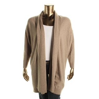 Lauren Ralph Lauren Womens Plus Cardigan Sweater Cashmere Open Front