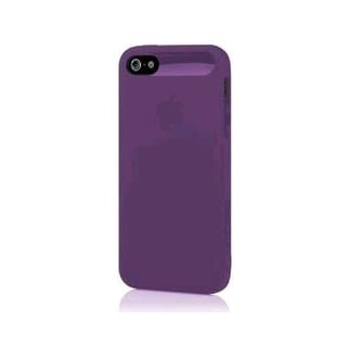 Incipio NGP Semi-Rigid Soft Shell Case for Apple iPhone 5 - Transparent Purple