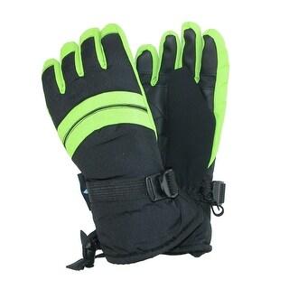 Grand Sierra Boy's 4-7 Waterproof Snowboard Glove with Adjustable Strap