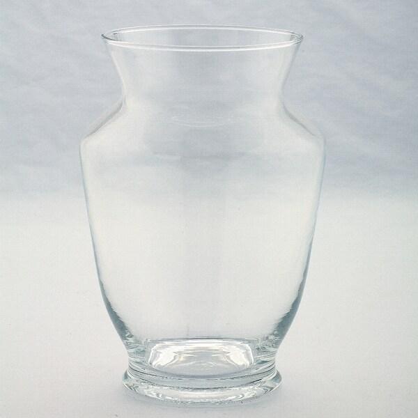 "8"" Clear Glass Flower Bud Vase Tabletop Decor - N/A"