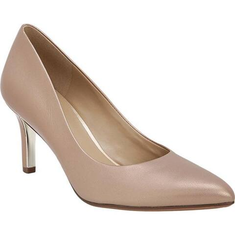 Naturalizer Women's Natalie Pump Chai Pearl Leather