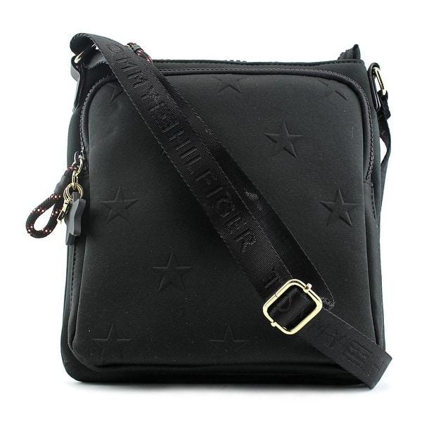 5c203b62 Shop Tommy Hilfiger Sporty Neoprene Stars Crossbody Nylon Messenger ...