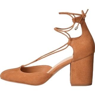 Aldo Womens Franceska Closed Toe Ankle Strap D-orsay Pumps