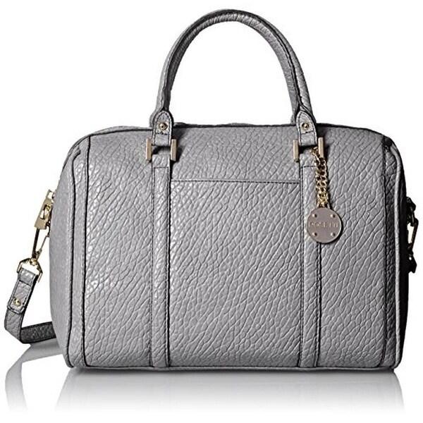 Rosetti Womens Ellie Satchel Handbag Faux Leather Convertible - LARGE