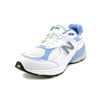 New Balance W990 2A Round Toe Leather Running Shoe