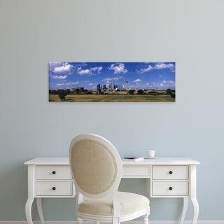 Easy Art Prints Panoramic Images's 'Skyline Dallas TX USA' Premium Canvas Art