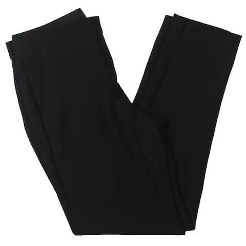Theory Womens Ibbey Dress Pants Crepe Office