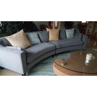 Copper Grove Brezovo Curved Sectional