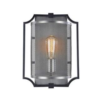 Artcraft Lighting AC10497 Oxford Single Light Wall Sconce - matte black