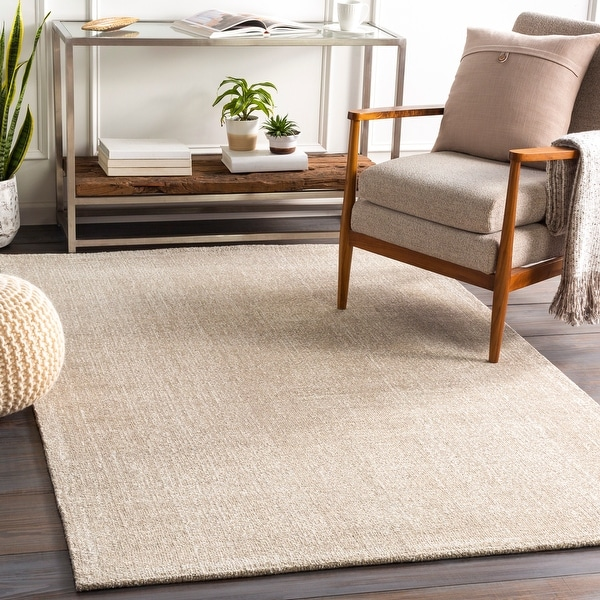 Eldon Hand Tufted Solid Area Rug. Opens flyout.