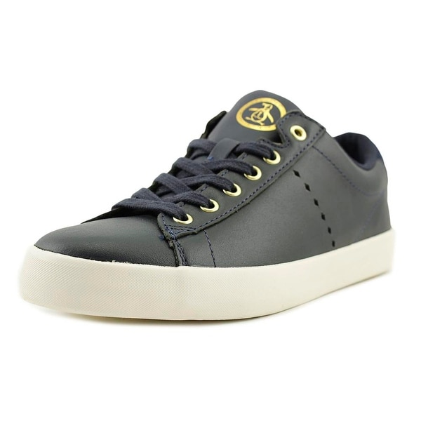 Original Penguin Jones Men Round Toe Leather Blue Sneakers
