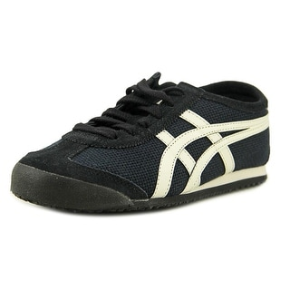 Onitsuka Tiger by Asics Mexico 66 Women Round Toe Canvas Blue Sneakers