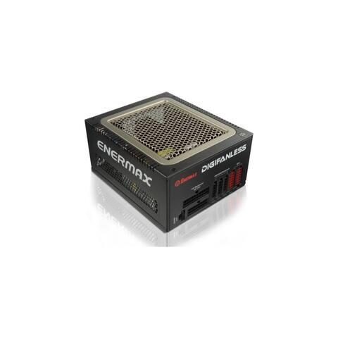 Enermax EDF550AWN Enermax DIGIFANLESS EDF550AWN ATX12V & EPS12V Power Supply - 120 V AC, 230 V AC Input Voltage - 3.3 V DC, 5 V
