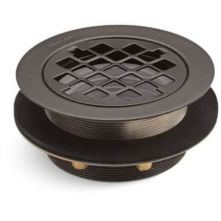 """Kohler K-9132 4-3/8"""" Round Shower Drain