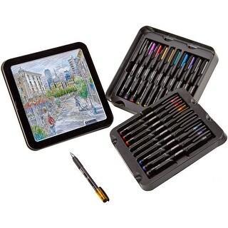 Assorted Colors 20/Pkg - Crayola Signature Detailing Gel Pens W/Tin