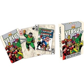 MarvelvsRetro Playing Cards