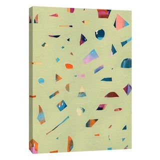 "PTM Images 9-108659  PTM Canvas Collection 10"" x 8"" - ""Confetti 2"" Giclee Abstract Art Print on Canvas"