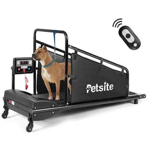 Petsite Pet Treadmill Indoor Exercise For Dogs Pet Exercise Equipment