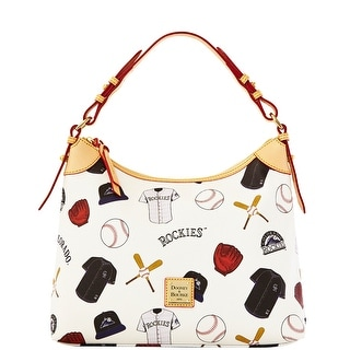 Dooney & Bourke MLB Rockies Hobo (Introduced by Dooney & Bourke at $218 in Feb 2014) - White
