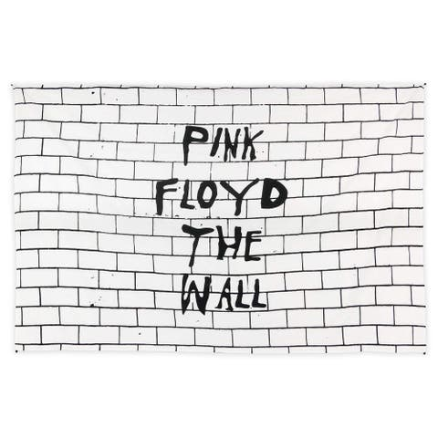 Pink Floyd The Wall Tapestry Wall Hanging Iconic Wall Art Tablecloth Rectangular Beach Sheet - 53 x 82 inches