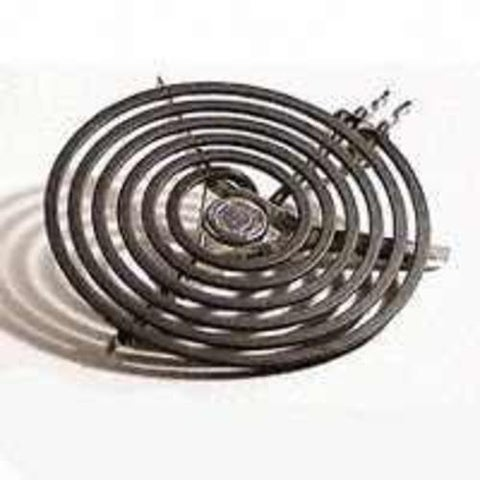 "Camco 00183 Electric Range Top Burner, 5"", W/Porcelain Connector"