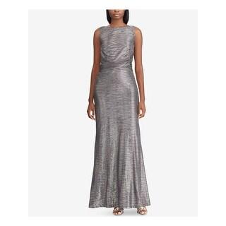 Link to RALPH LAUREN Gray Sleeveless Full-Length Dress  Size 4 Similar Items in Dresses