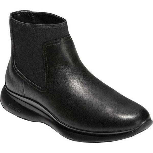 e7a4a7beaecc4 Cole Haan Women  x27 s 3.ZEROGRAND Waterproof Chelsea Boot Black Waterproof  Leather
