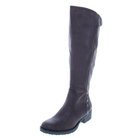 Baretraps Womens Oria2 Riding Boots Wide Calf Knee-High