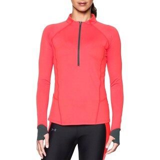 Under Armour Womens 1/4 Zip Pullover Fitness Workout - 2XL