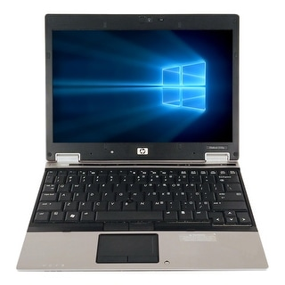 Refurbished HP EliteBook 2530P 12.1'' Laptop Intel Core 2 Duo SL9400 1.86G 2G DDR2 160G DVD Win 7 Home Premium 1 Year Warranty