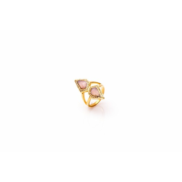 Mistral Ring in Pink - Size 6
