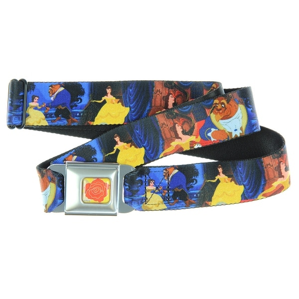 Walt Disney Movies TV Shows Beauty Beast Happy Couple Seatbelt Belt