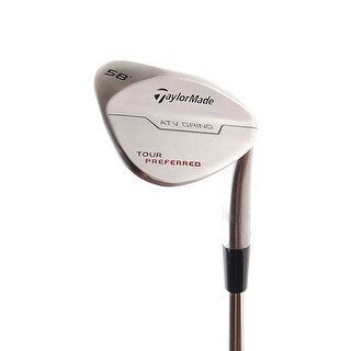 New TaylorMade Tour Preferred Wedge 58* (ATV Grind) RH w/ Steel Shaft
