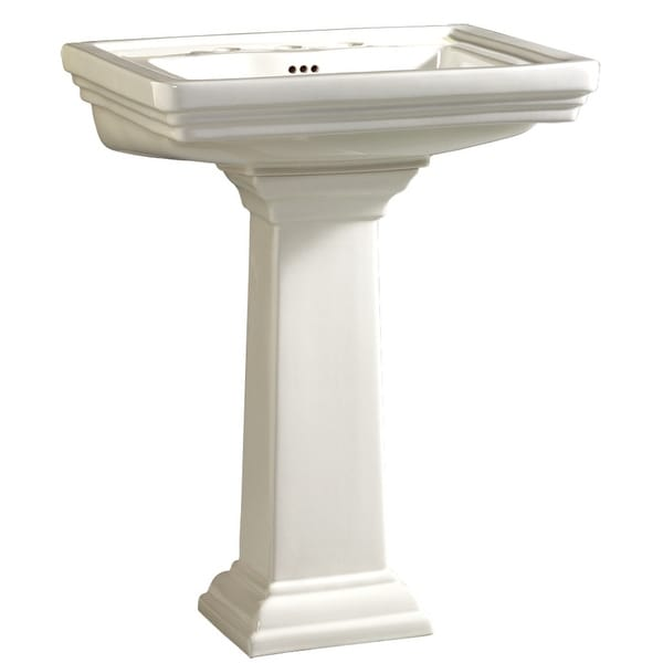 Mirabelle MIRKW341 24X19 1CC VC LAV ONLY *KEYWES - BASIN ONLY - White