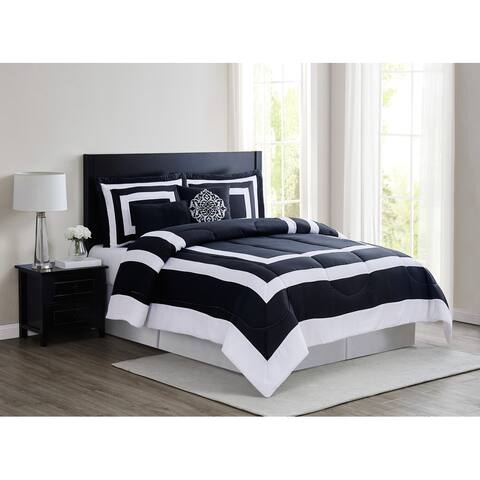 London Fog Raynes Hotel 5 Piece Comforter Set