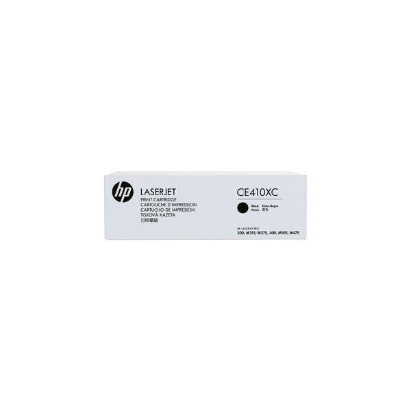 HP 305X Black Contract Original LaserJet Toner Cartridge (CE410XC)(Single Pack)