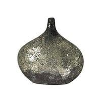 Dale Tiffany AV10727 Quartz Mosaic Decorative Vase with Hand Blown Art Glass Mosaic