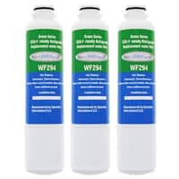 Replacement Water Filter For Samsung RS267TD Refrigerator Water Filter by Aqua Fresh (3 Pack)