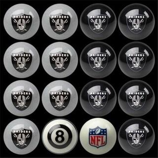 Oakland Raiders Home vs. Away Billiard Ball Set