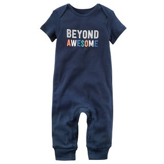 Carter's Baby Boys' Beyond Awesome Jumpsuit, 3 Months