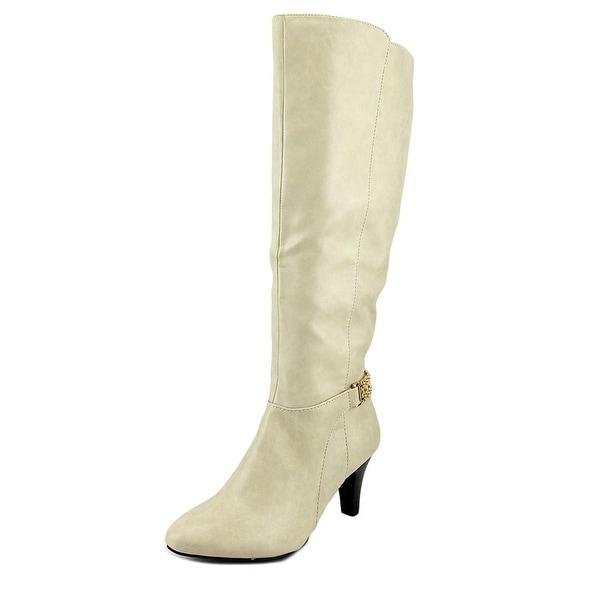 Karen Scott Haidar White Boots