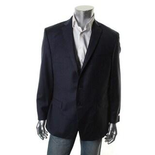 Calvin Klein Mens Wool Slim Fit Sportcoat