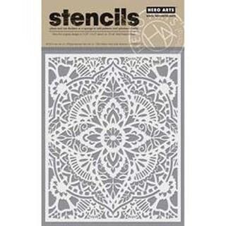 "Glorious Petal - Hero Arts Stencils 6.25""X5.25"""
