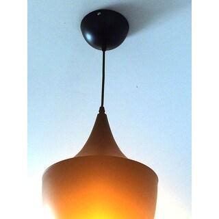 Vino 1-light Black and Gold Beat Pendant