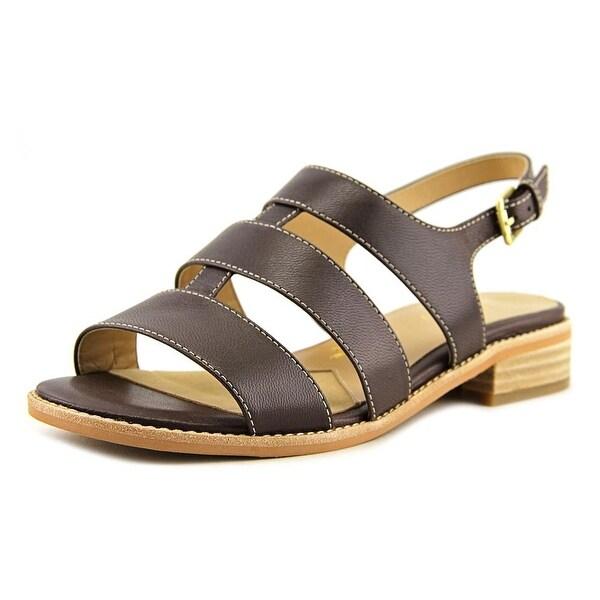 Trotters BENNIE Women Dark Brown Sandals