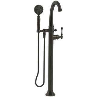 kohler kt973324 kelston floormount tub filler with hand shower and