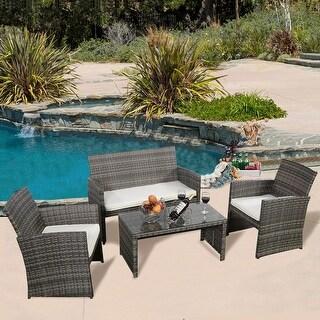 Outdoor Sofas, Chairs & Sectionals - Shop The Best Deals For May 2017 Mobel Kollektion Rattan Garten Design